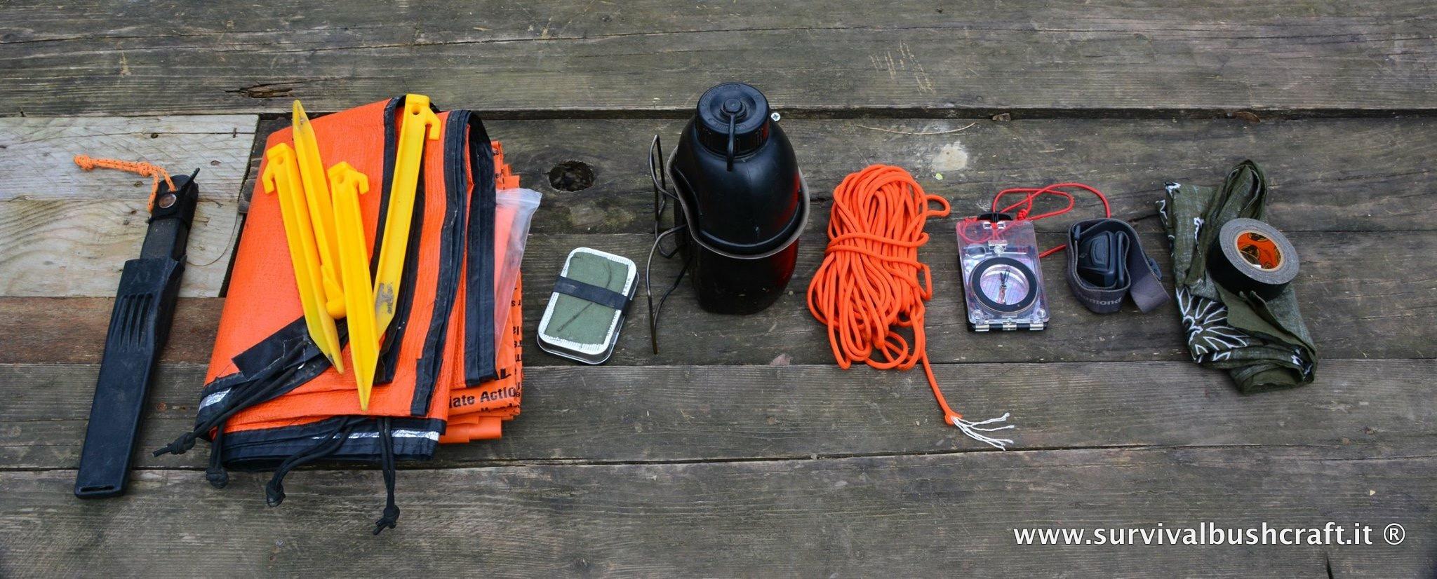 I kit di sopravvivenza
