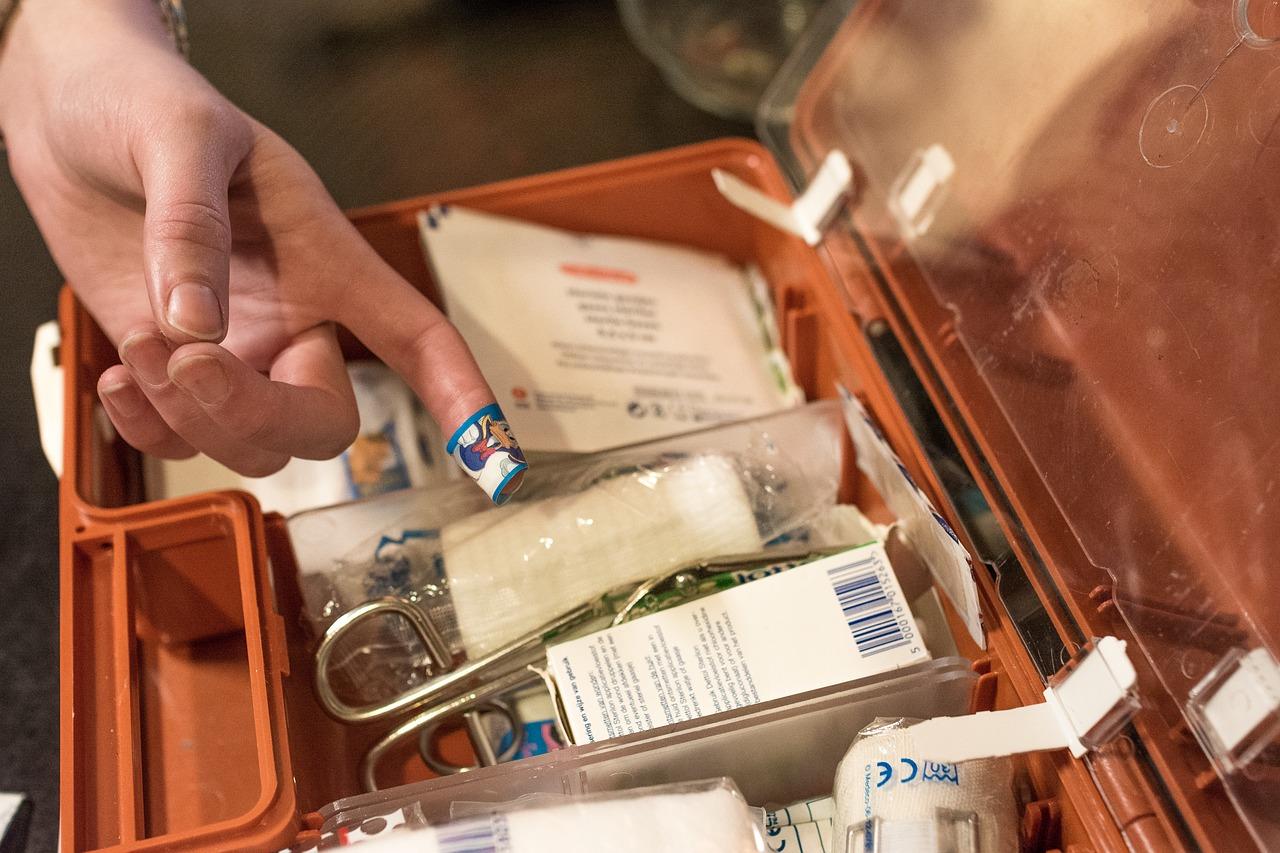 Il kit di primo soccorso